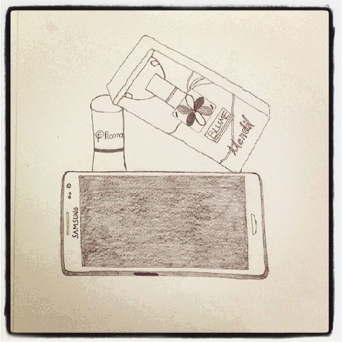 Yine1cizim Objectdesign Samsunggalaxys3 Flormar blume