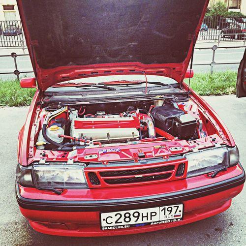 Saab Love Russia Saab9000