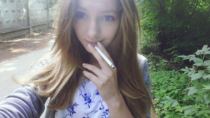 Smoke Pretty Girl