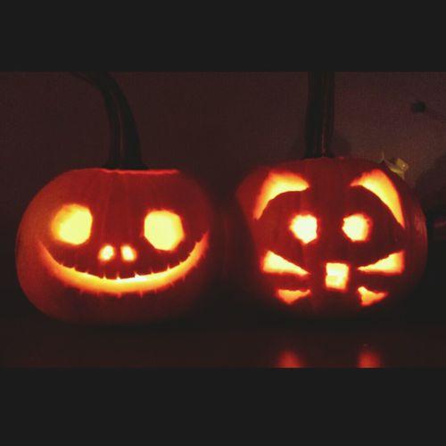 Late Halloween Pumpkin