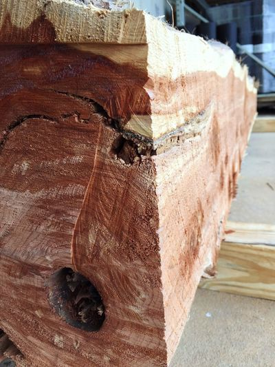 Cedar log Wood
