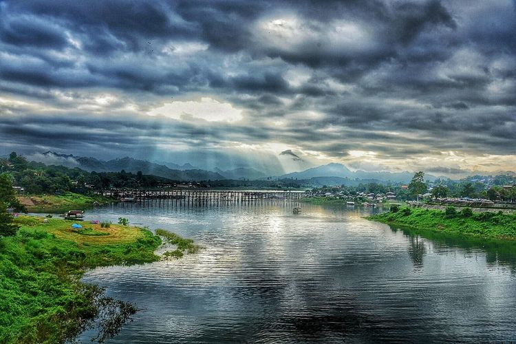 Mountain Sky Nature Landscape Cloud - Sky Water Beauty In Nature Outdoors Vacations Thailand🇹🇭