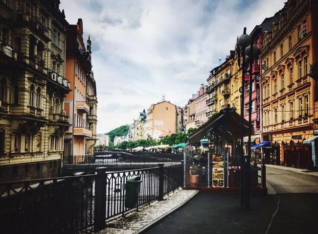 Karlovy Vary Karlsbad Architecture Building Exterior Built Structure Travel Destinations First Eyeem Photo City Canal Reataurant History City