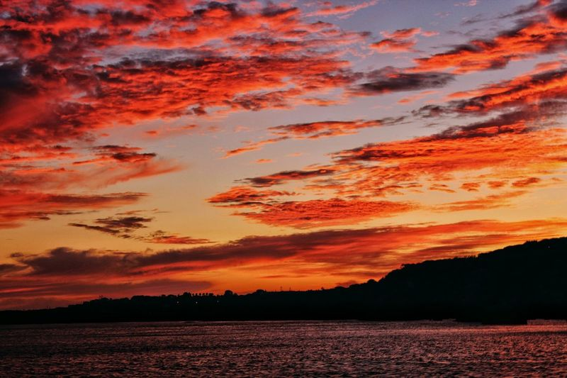 Costa Algarvia Premium Photo Sunset Orange Color Dramatic Sky Scenics Tranquility Nature Outdoors Beauty In Nature Water Sky EyeEmNewHere