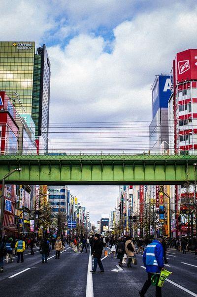 Akihabara 歩行者天国 Snapshot
