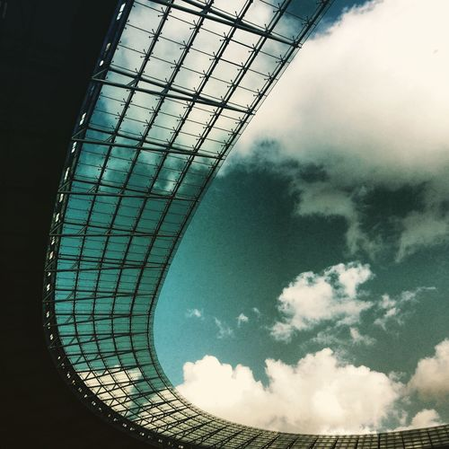 Weird Shapes stadium Sky And Clouds