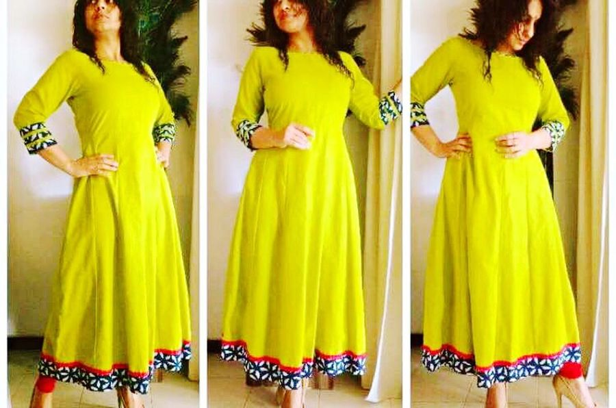 For Designer indian cloths plz contact Yellow Standing Fashion Lifestyles Real People Young Adult Disha Bhuvan Bhuvan Classy Ethnicwear Indian Culture  Indian Wear Kurta Cotton Clothes Clothing Brand Branded Cloths