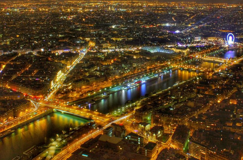 Paris Wide Angle Landscape Night Lights Reflection Silk Water Luxury City Streetphotography France Europe Trip Photography Canon 1100D Taking Photos EyeEm Best Shots