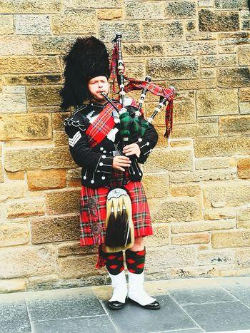 Scotland Edynburg Scottish ScottishGuy Bagpipes