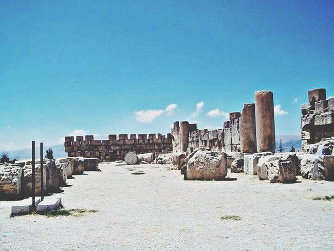 Lebanon Baalbek Ancient Beautiful
