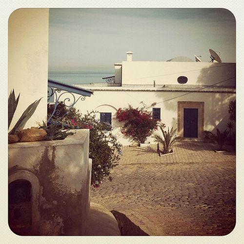 Sidi Bousaid Tunisia House beach sea