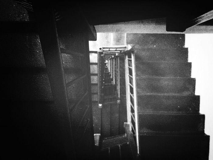 Blackandwhite Stairs Vertigo Noir Series