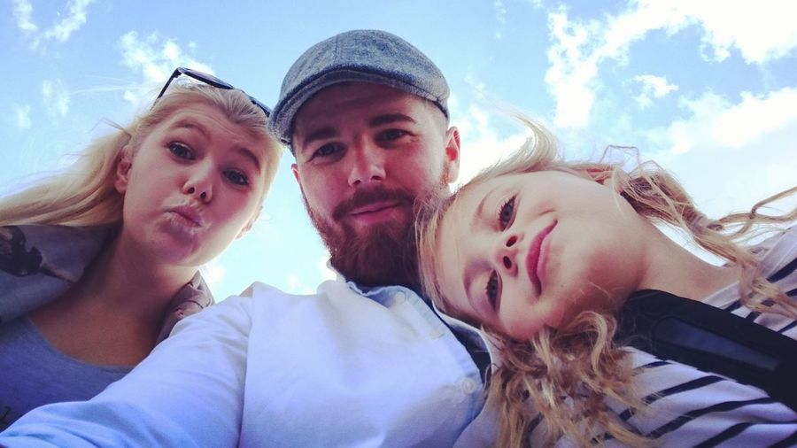 People And Places People And Places. Family Seaside Southsea Selfies