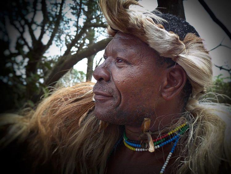 Dumazulu I Love South Africa Kwazulunatal Zulu Nation Dumazulu Portrait Of A Man  PortraitPhotography Zulu Chief