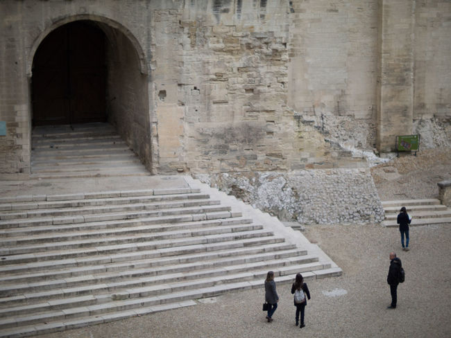 Arch Architecture Building Exterior Built Structure Côte D'Azur Day Fort France Full Length Outdoors Person Steps Sunny The Way Forward Walking