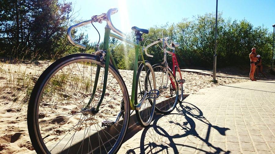 Fixedgear Fixed Motobecane Beach On Your Bike