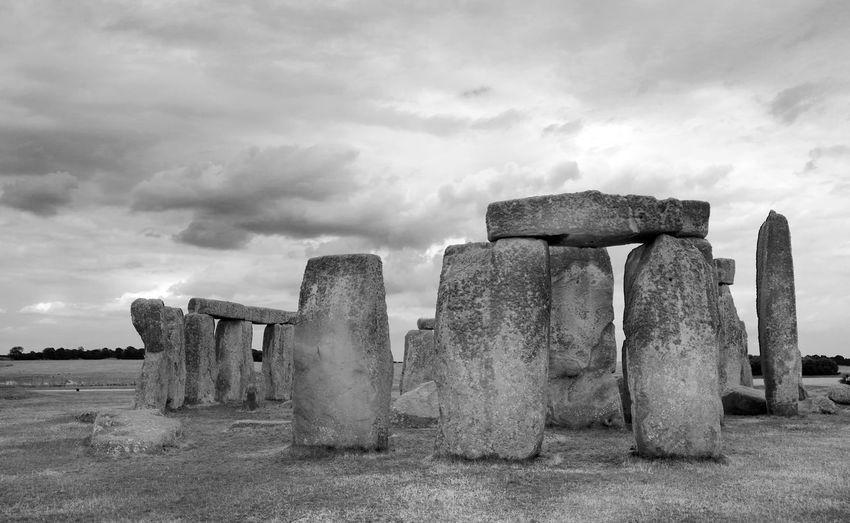 Stonehenge England England & Scotland Holiday Traveling Eye4photography  Black And White Blackandwhite Stonehenge Sightseeing Tourism