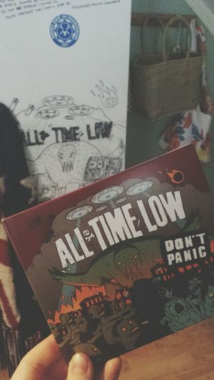 All Time Low Dontpanic Cd Amazing