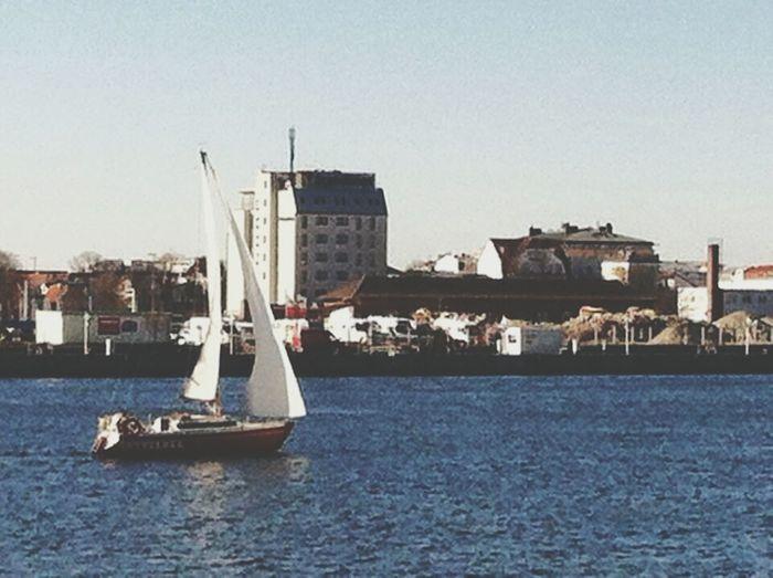 Sailing Boat Sea Life City Life Spring Time