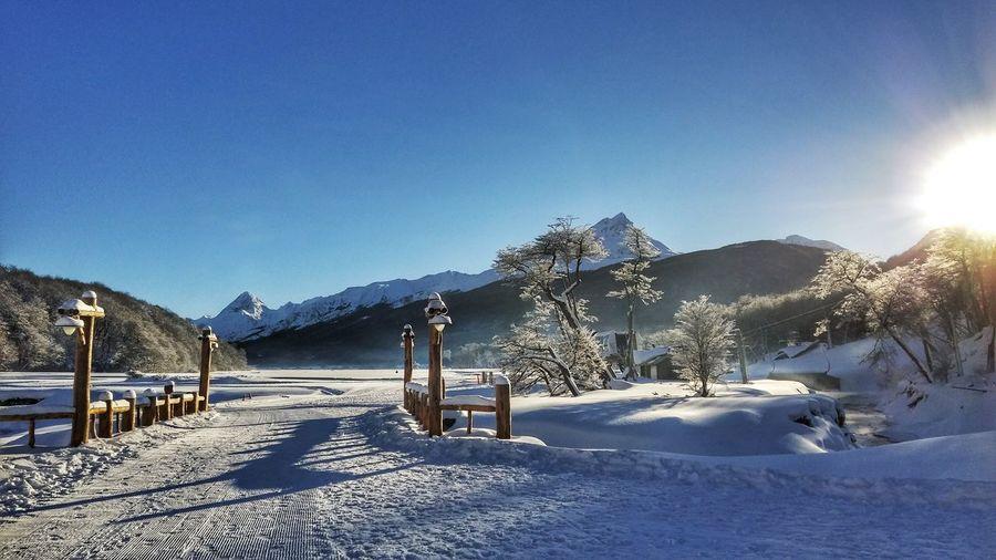 Ushuaia Argentina Ski Resort  Winter Snow Snowboarding