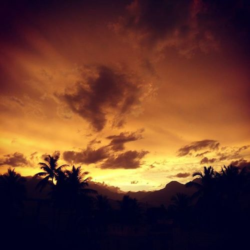 Home Sunset Sky Skybeauty Evening Beautiful Attractive Loveit Takeapicture