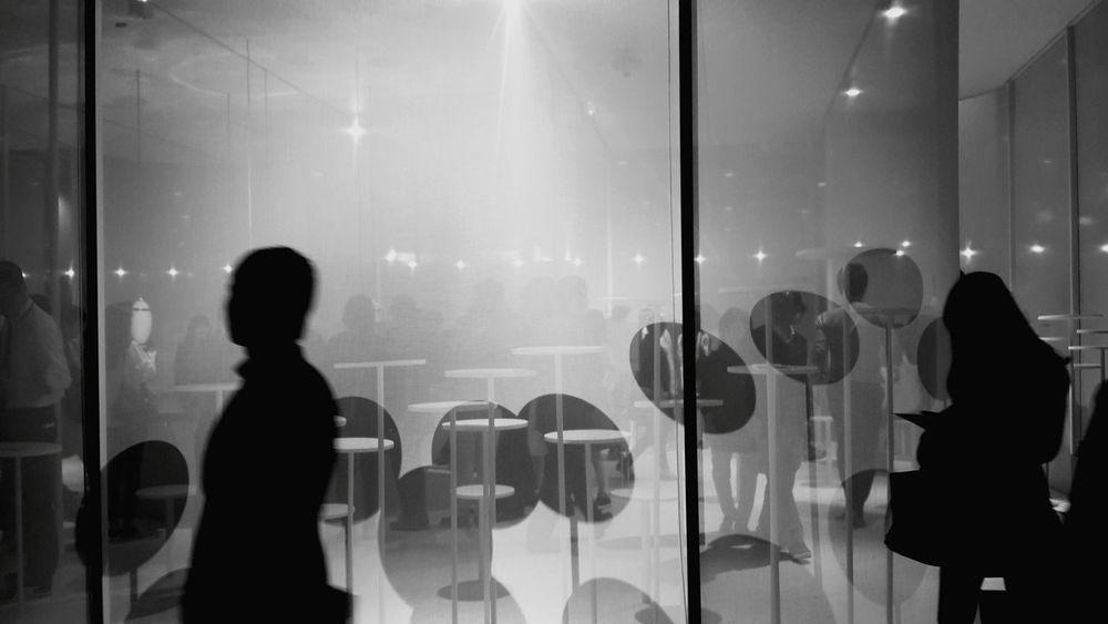 Seoul Korea Artfair 2015  Black & White Sillouette Shadow Monuments