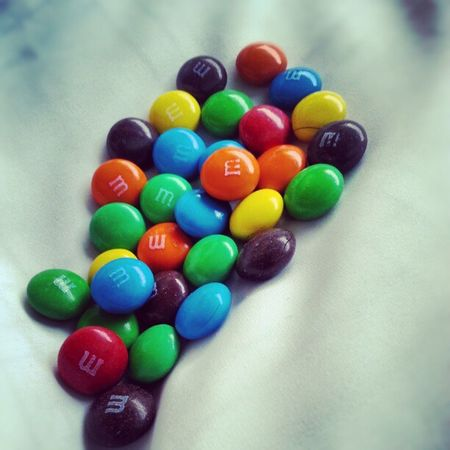 Eating m&ms in my way to Fujairah