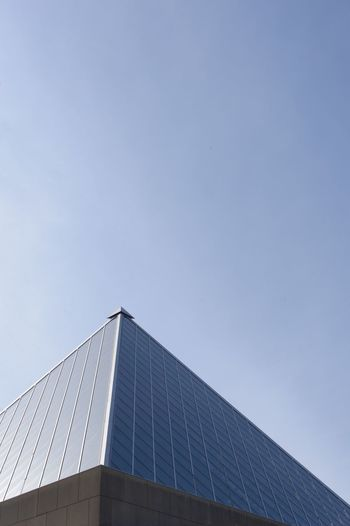 Built Structure Architecture Building Exterior Low Angle View Sky Clear Sky Copy Space City Modern Outdoors Tower