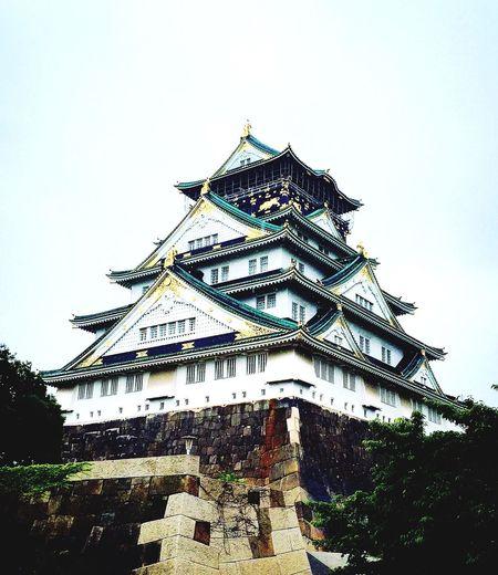 大阪城 城