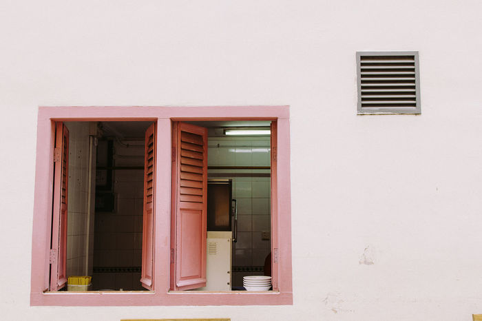 Architecture Haji Lane, Singapore House Outdoors Residential Structure Singapore Street Travel Window