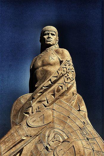 Statue Sculpture Art And Craft Low Angle View Spock Enterprise Star Trek Sandsculpture SF Giants SF