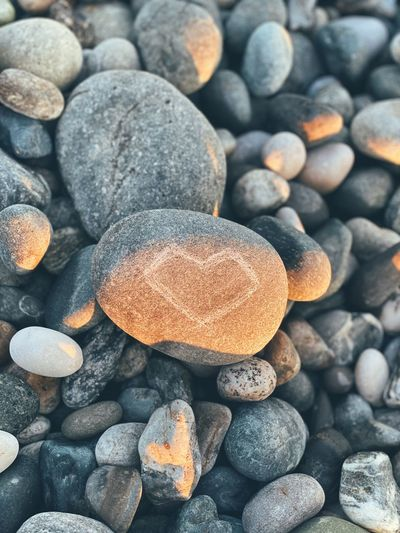 Just stone heart