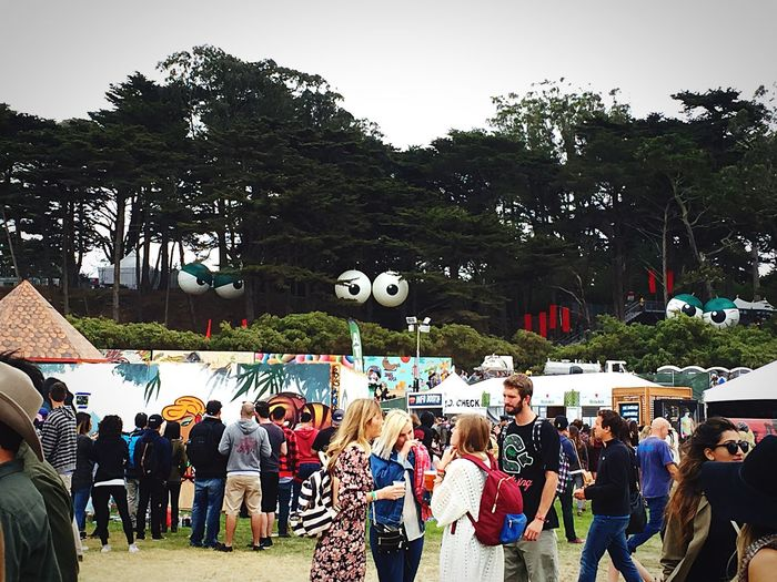 The Fan Club Outsidelands Goldengatepark Festival LiveMusic EyesOnYou Outside Lands seeing is believing...