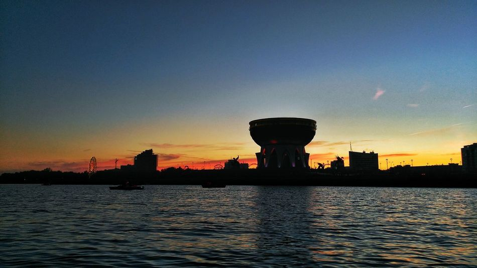 Sunset Sky Nature Water Outdoors No People Izborik Казань 2016 Architecture City Kazan Russian Federation