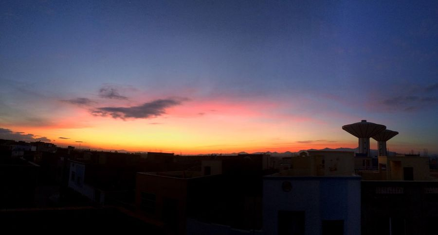 Orange sunset Sun Sunset_collection First Eyeem Photo