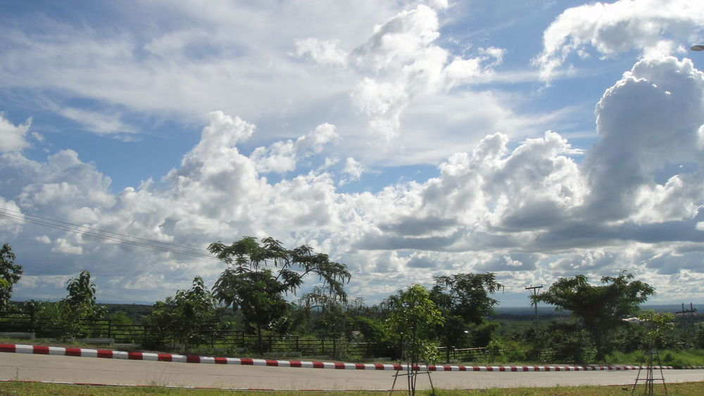 Buddha Ga Yar Cloud - Sky Competitive Sport Day Nature Nay Pyi Taw, Myanmar No People Outdoors Sky Sport Track And Field Stadium Tree Amazing View Amazing Sky EyeEmNewHere Tamer Gad