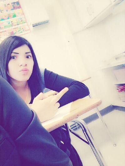 con la Aislinn in Saturday school