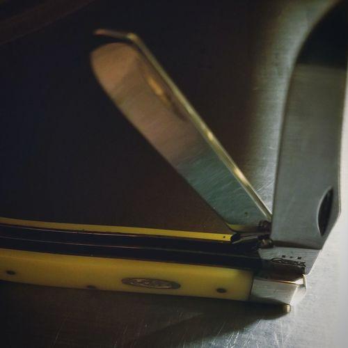 Knife Pocketknife Latechristmaspresent No People Indoors  Close-up
