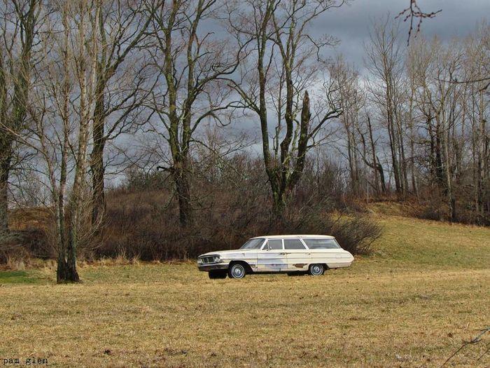 Classic Car Antique Eerie Scene MeinAutomoment Classiccars Old Eeriesetting