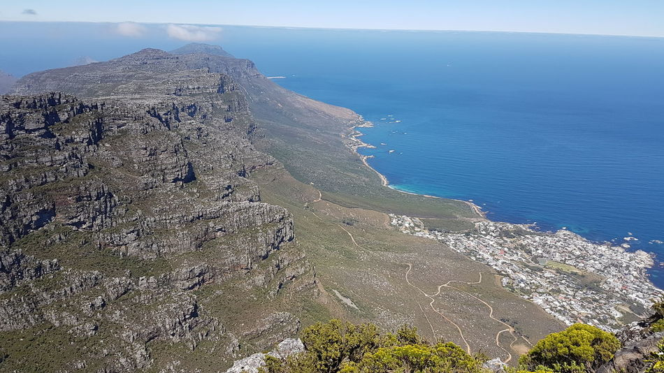 Cape Town, South Africa South Africa 🇿🇦 Beauty In Creation  Breathtaking Panorama Cape Town Table Mountain Backdrop To Display Glory 12 Apostles. Cape Town Camps Bay Sea Nature Day Outdoors No People Sky Beauty In Nature Water