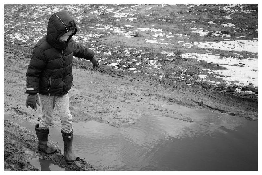 """Mud kid"" Mud Muddy Kids Kids Being Kids Dirty Boy Kid Blackandwhite Blackandwhite Photography Blackandwhitephotography Black And White Black And White Photography EyeEm Best Shots - Black + White Water Sand"