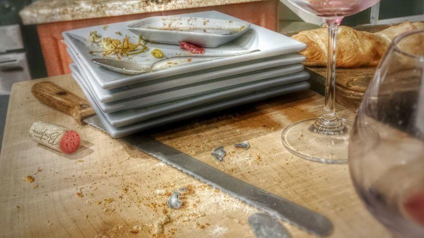 Party's over. Showcase: February Table4five Wine Bread Salumi