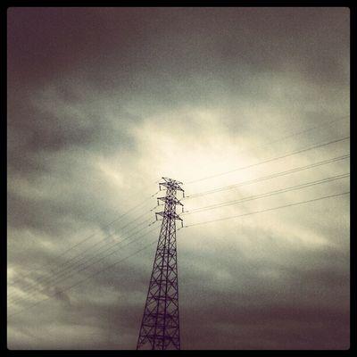 My jogging notes - Cloudy Day Sanchong Taiwan Taipei Minimalismbd minimalism simplicity clouds