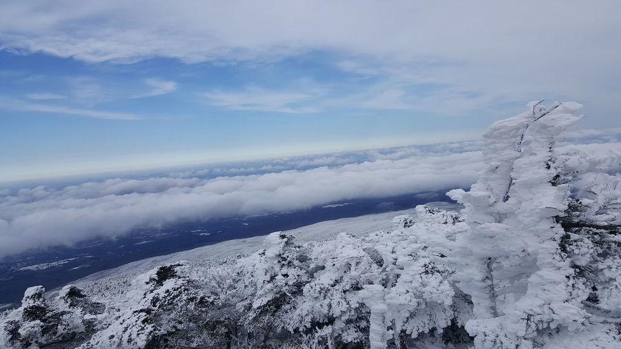 한라산 구름 Clouds