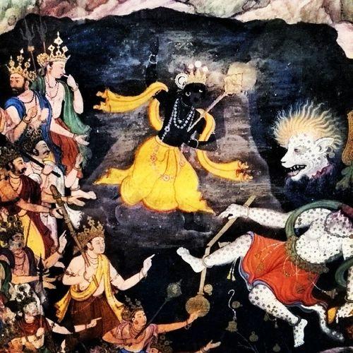 Genealogy of Hari Harivamsha Krishina Demon Nikumbha