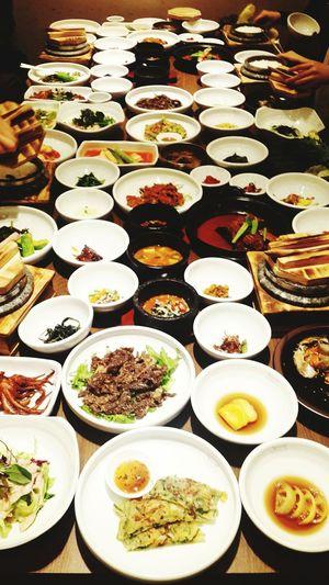 정신없는밥상@-@Korean Food 한식 판교 아빠생신 진진밥상