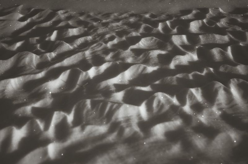 Snow or Sand? You tell me Snow Drifts Winter Black And White Silver  Looks Like Sand Shadow Backgrounds Pattern No People Day Nature Outdoors Close-up EyeEmNewHere
