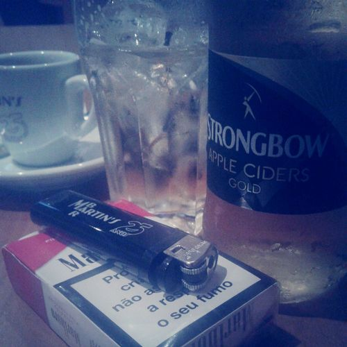 Drink Beer / Strongbow / Marlboro