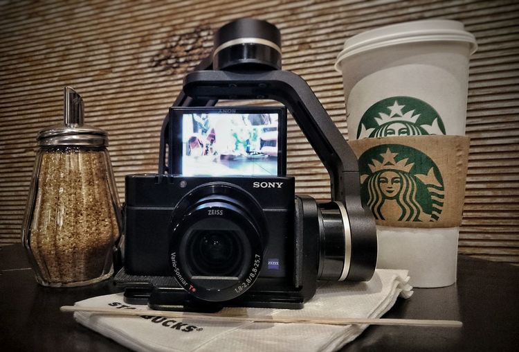 набор youtube блогера тытруба Youtube Memories History Camera - Photographic Equipment Starbacks Starbacks Coffee на невском Питер Saint Petersburg стабилизатор Sony Xperia Z3 Sony RX100 M4 Technology Mobile Photography Snapseed Z3