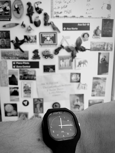 Let's go? Gift Watches Moov Time Travel Travel Go Trip Indoors  No People Wall - Building Feature Clock Number Focus On Foreground Text Home Interior Communication Time Day Machinery